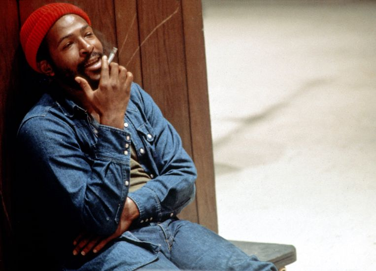 Marvin Gaye. Beeld Getty Images