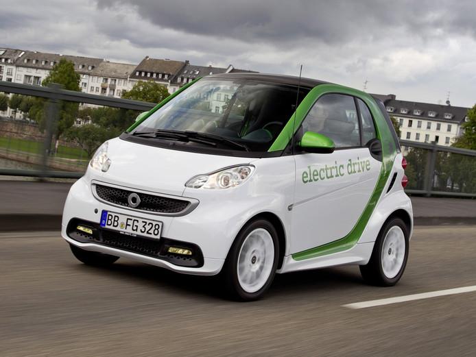 De (vorige) Smart Electric Drive