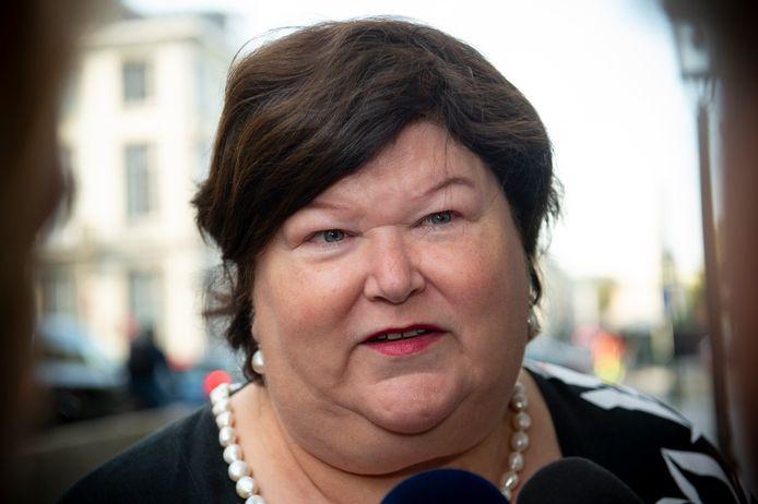 Maggie De Block, ministre en charge de l'Asile et de la migration.