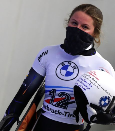 Skeletonster Kimberley Bos ook in Innsbruck op het podium