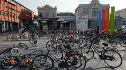 Stad voorziet 10.000 fietsenstallingen aan station