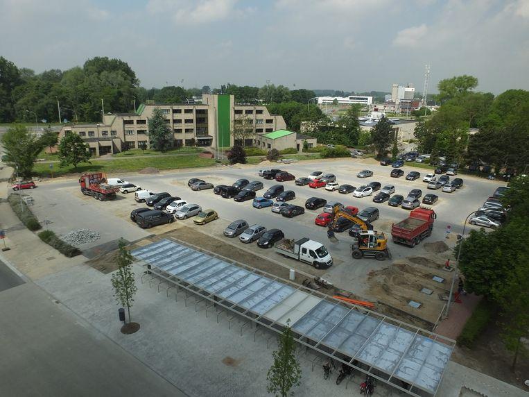 Archiefbeeld: de RAC-parking.