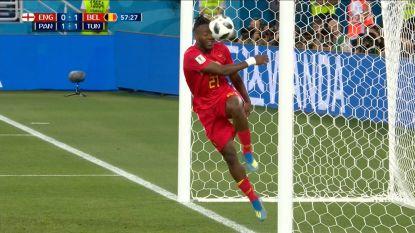 """Hilarisch: """"Batshuayi met het moment van het WK"""""""