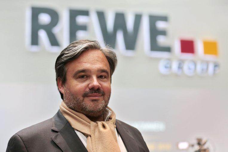 Alain Caparros, CEO van C&A Europa. C&A van zeven naar maar drie bestuurders Beeld EPA