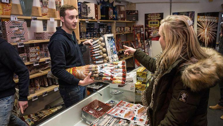 De Vuurwerkplanet dealers zijn zorgvuldig geselecteerd en bieden een collectie vuurwerk van top kwaliteit. Beeld Arie Kievit