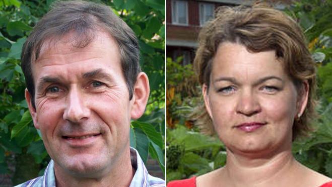 Rob van Muilekom en Wanda Dijkstra