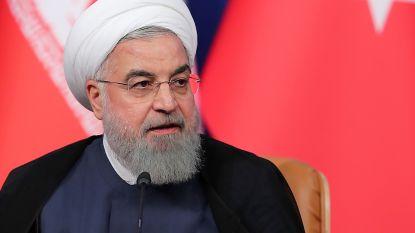 """President Iran: """"We zijn in regelrechte oorlog met de VS"""""""