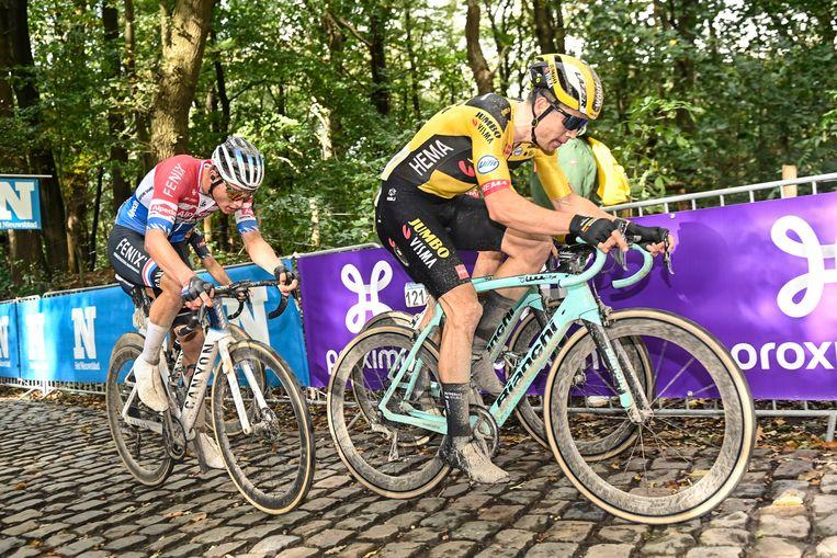 Van Aert e Van der Poel.