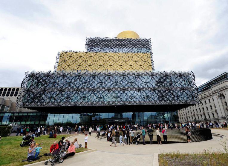 De bibliotheek van Birmingham (ontworpen door Francine Houben) Beeld null