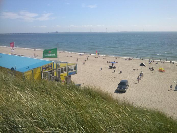 Strand bij Westenschouwen.