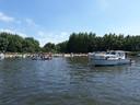 Feestdagen in de Biesbosch zijn zoals gewoonlijk druk.
