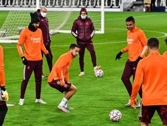 """Zidane laat uitschijnen dat Hazard kan spelen vanavond: """"Eden is goed, anders was hij hier niet"""""""