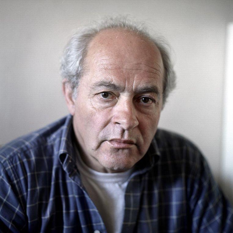 De Haarlemse schrijver en oud-leraar L.H. Wiener. Beeld Joost van den Broek / de Volkskrant