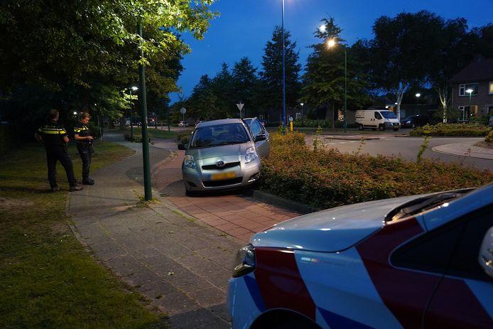 Automobilist verliest macht over het stuur in Dongen.