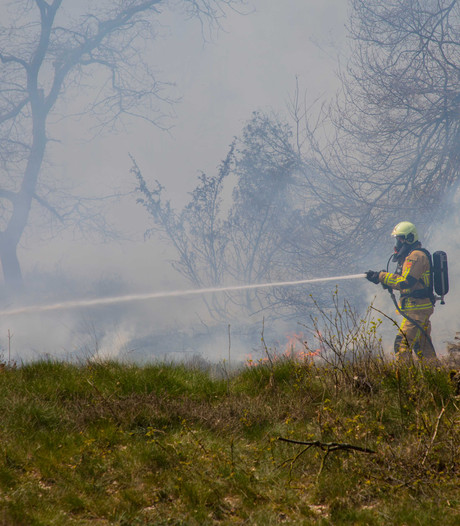Code oranje in Zuidoost-Brabant voor natuurbranden