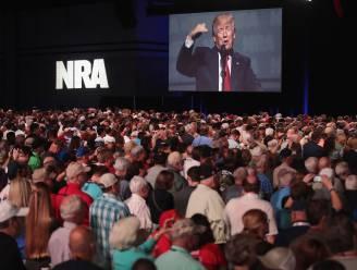 """Trump op congres wapenlobby NRA: """"Trust me, jullie zijn mijn vrienden"""""""
