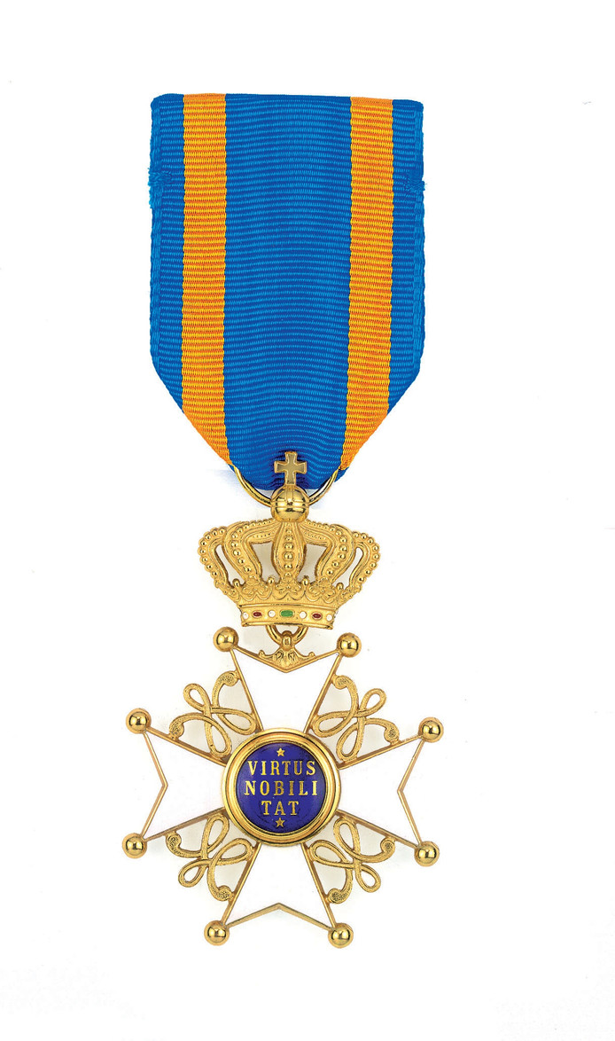 Ridder in de Orde van de Nederlandse Leeuw (man).