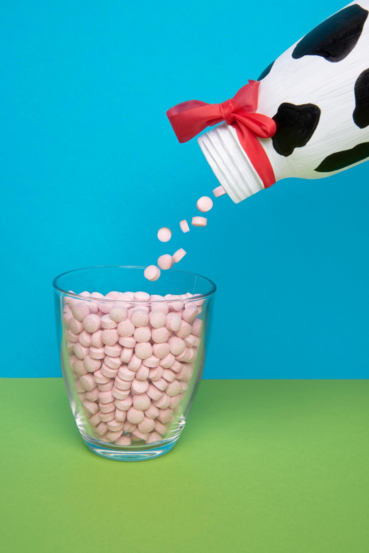 Voor het onderzoek van het Universitair Medisch Centrum Groningen werden de gegevens gebruikt van 5500 mensen. Hun vitamine B12-spiegel was slechts een van de gebruikte gegevens.