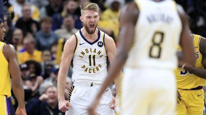 Indiana smeert LA Lakers vierde seizoensnederlaag aan