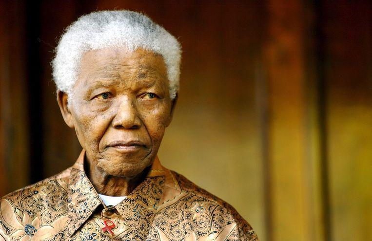 Nelson Mandela Beeld epa