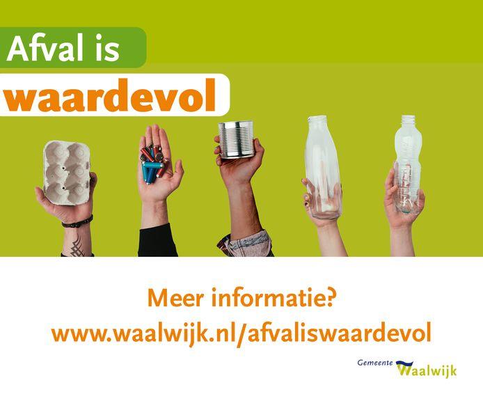 De gemeente Waalwijk lanceert dit jaar een grote afvalcampagne.