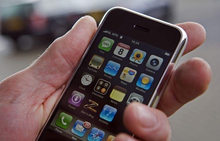 Een iPhone. Beeld anp