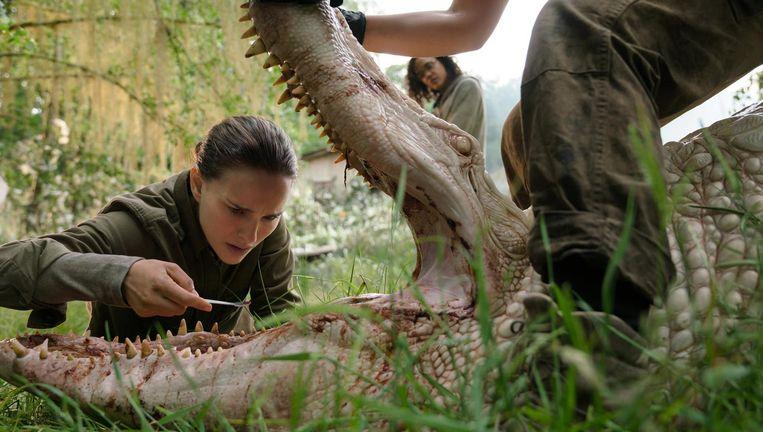 Natalie Portman in Annihilation. Beeld
