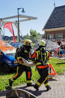 Waterpret bij open dag brandweer Aarlanderveen