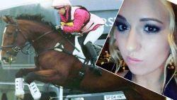 Amazone (22) sterft nadat paard in volle galop bezwijkt aan slagaderbreuk