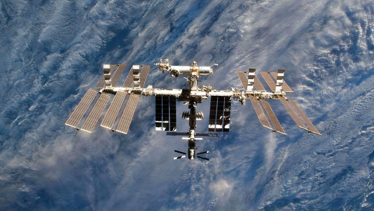 Het Internationaal Ruimtestation ISS (archiefbeeld).
