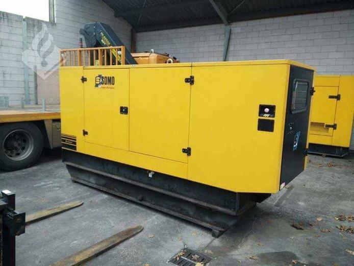 De gestolen generator