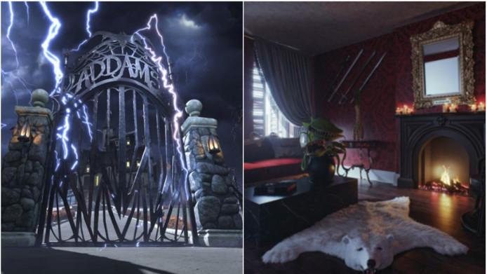 Slapen in het huis van The Addams Family? Het kan!