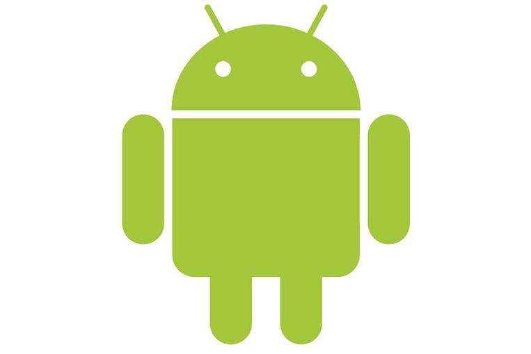 Het groene Android-logo Beeld