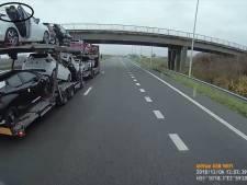 Trucker Ingo filmt migranten die zich schuilhouden in Nissans op autotruck