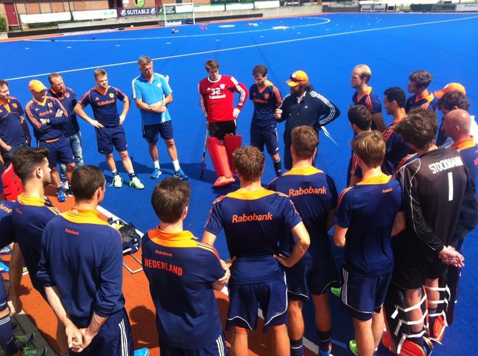 Eerste training Oranje met definitieve selectie voor Rio