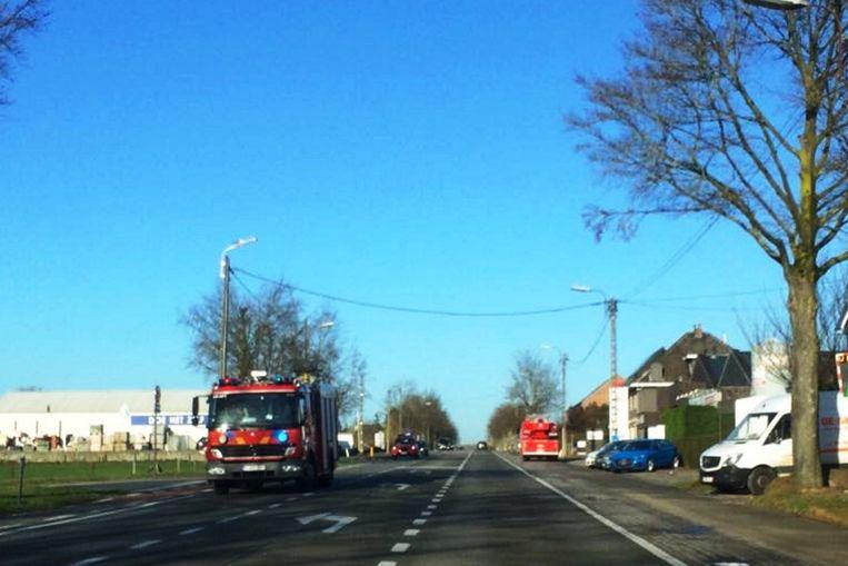 De brandweer maakte bij aankomst meteen rechtsomkeer.