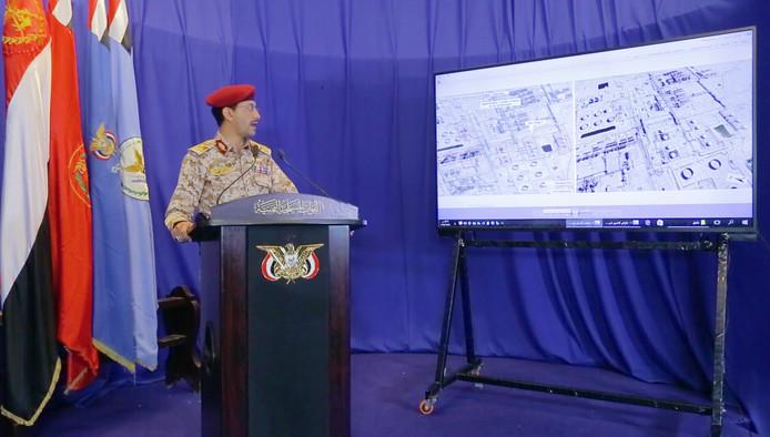 Een hooggeplaatste officier van de Houthi-rebellen legt uit hoe de aanval op de Arabische olie-installatie in zijn werk is gegaan.