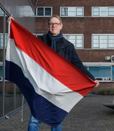 75 jaar later wappert hij weer, de bevrijdingsvlag van Stork