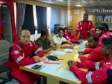 Iran deelt beelden van gegijzelde bemanning in olietanker