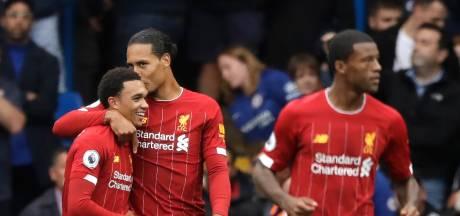 Liverpool met hangen en wurgen langs Chelsea, tiental Arsenal voorbij Aston Villa