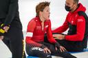 Jorien ter Mors en trainer Erwin ten Hove.