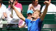 Goffin is terug: hij wint nu ook van Italiaanse beer en staat in finale Halle tegen Federer