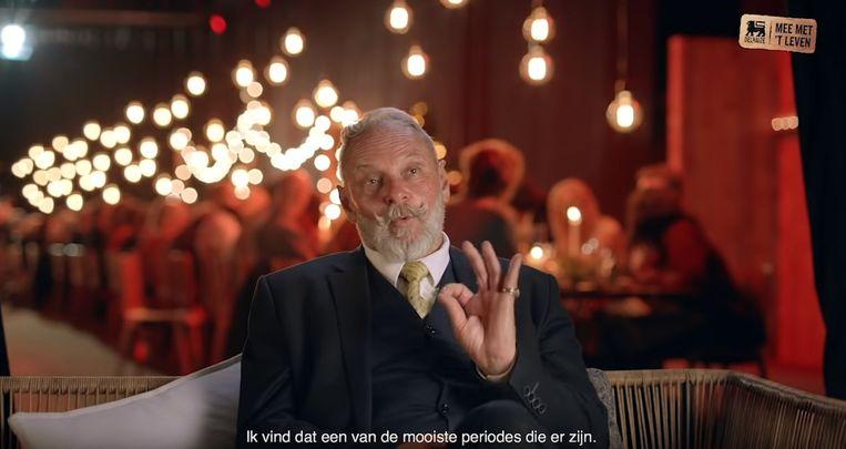 Maurice Vermeersch vertelt in de reclamespot waarom de feestdagen belangrijk zijn.