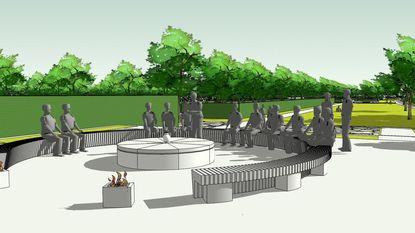 Omgeving begraafplaats wordt recreatief park