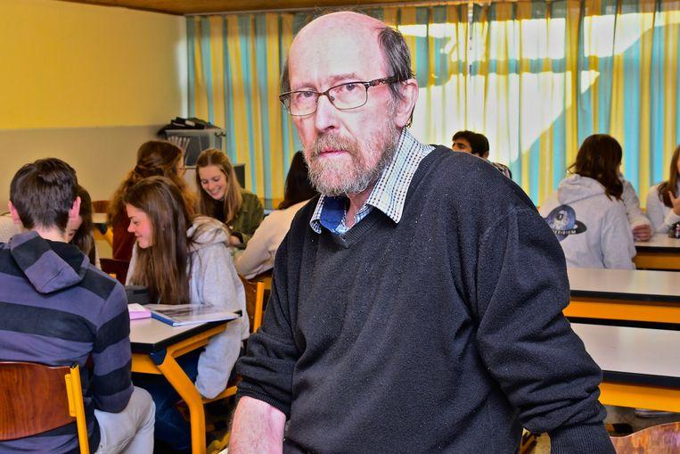 Priester Jan Parmentier gaf zijn laatste lessen in het college.