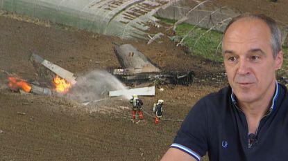 Martin getuigt hoe hij twee F-16-crashes overleefde met zijn schietstoel