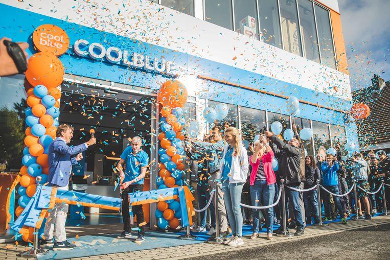 In Gent werd vorig jaar nog een Coolblue XXL geopend, waar klanten meer dan 1.000 producten kunnen uitproberen.