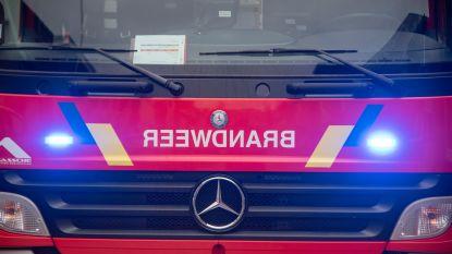 Stevige schoorsteenbrand in Hoge Landweg