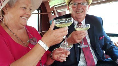 Eddy en Hildegarde vieren gouden bruiloft met een 'high tea'