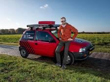 Bart rijdt 7000 kilometer naar de Noordkaap: 'Het is een aardige zit'